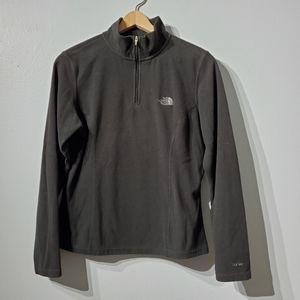 The North Face TKA100 Black Pullover Fleece Medium